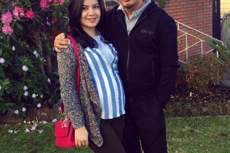 Yusry Abdul Halim posts photo of wife's baby bump