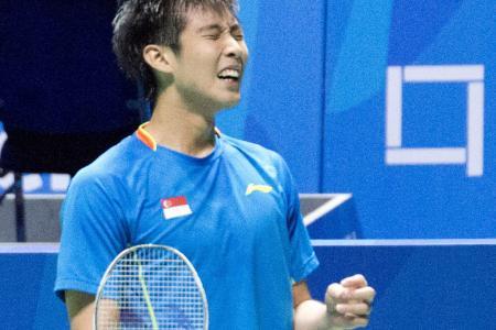 Kean Yew's amazing ride to badminton semis