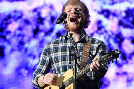 Ed Sheeran surprises fan with live duet