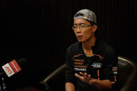 Sabahan trainer: Survivors, stay strong