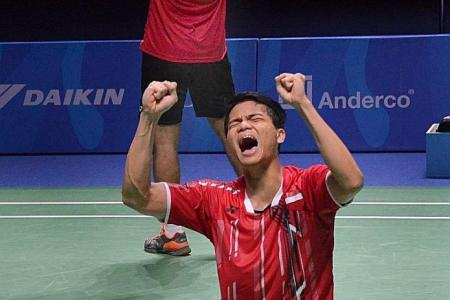 'Home' victory for Indonesian pair