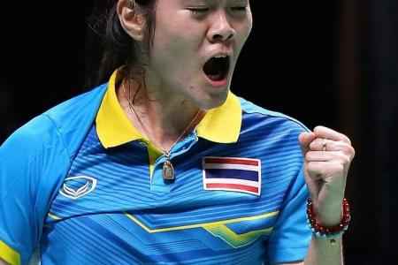Singles silver in 2013, now gold for Thai Busanan