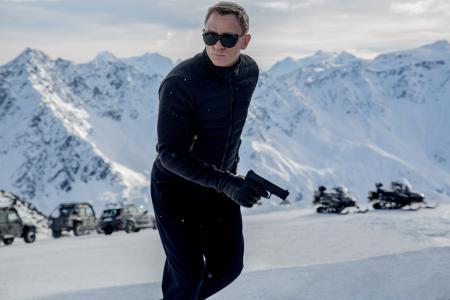James Bond dances with the dead