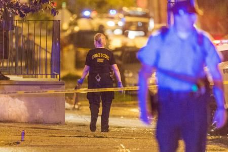 Seven people, including baby, injured in Philadephia party shooting