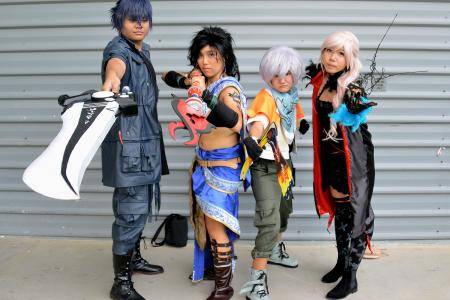 Cosplay and self-confidence at the Expo