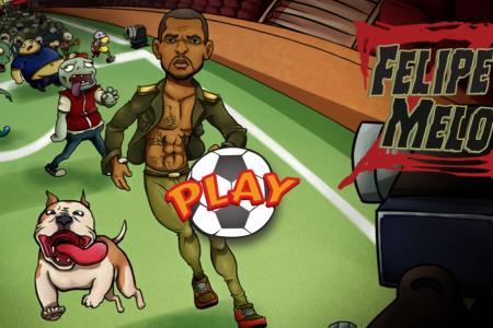 Help Felipe Melo fight off zombie apocalypse in his new app