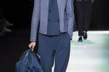 Rejected at home, S'pore rookie models for Armani in Milan