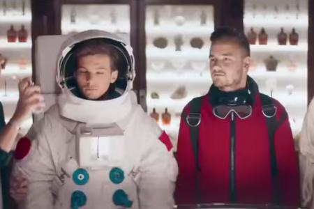 One Direction star in one of the best perfume ads