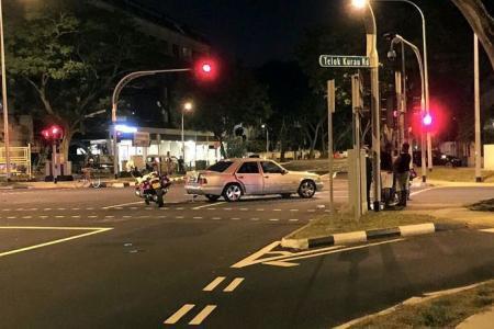Be careful at these Telok Kurau junctions