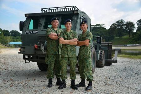 Cohesion key to battalion's win in SAF best unit competition