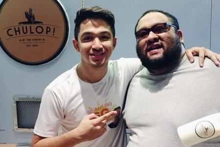 Local celebs join in churros craze