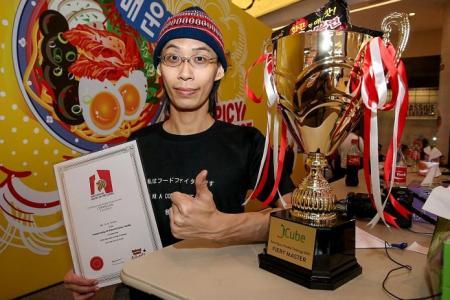 Photographer is 'Singapore's Spiciest Eater'