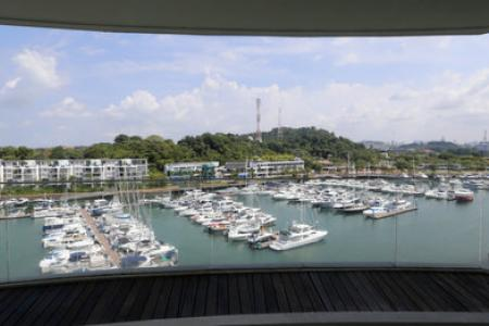 Kong Hee's $10m Sentosa Cove penthouse up for sale
