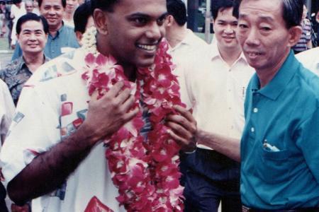 Shanmugam: Man once demanded HDB helipads