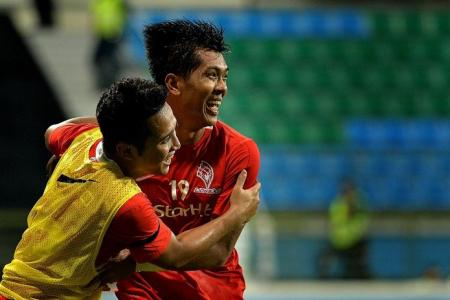 Two-goal hero Faris stars for LionsXII