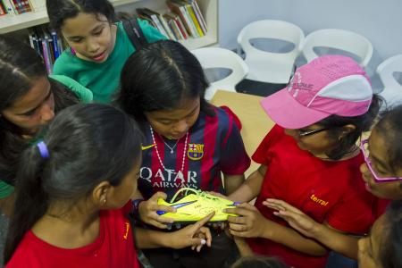 Dream come true for girl who wrote about Neymar's boots