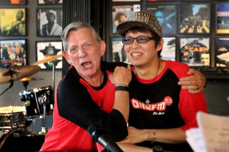 Glenn Ong and The Flying Dutchman back together on ONE FM