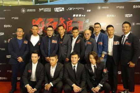 Local rocker handpicked to sing theme song of HK action flick SPL 2