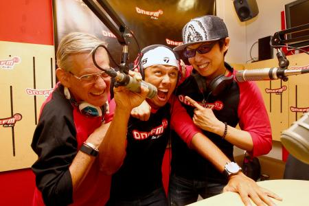 Glenn Ong and Flying Dutchman renew bromance at ONE FM