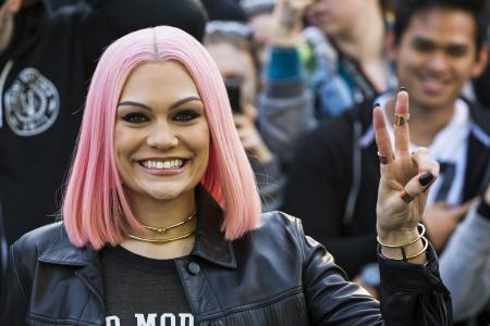 Jessie J out of hospital
