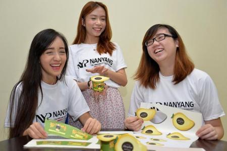 Poly team creates award-winning mango pudding