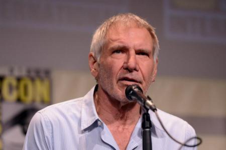 Harrison Ford's surprise comic-con appearance, plus The Force Awakens behind-the-scenes footage