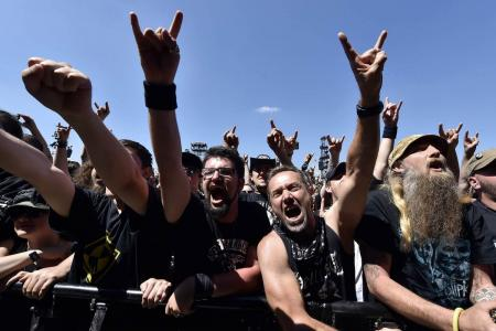Metal fans angry? Nope, they're happier than everyone else, says new study