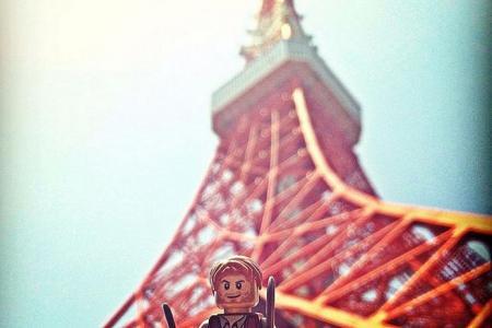 Chris Pratt's Mini-Me tours Tokyo