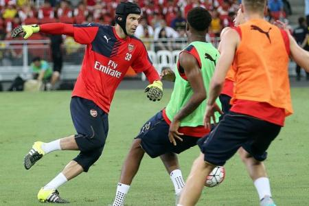 Cech's cool, charming and confident