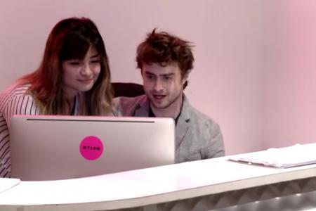 WATCH: Harry Potter star tanks at receptionist job