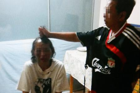 Neighbour secretly took pictures of woman being abused