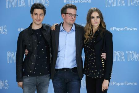 John Green on his Paper Towns leading lady: 'Cara fascinates me'