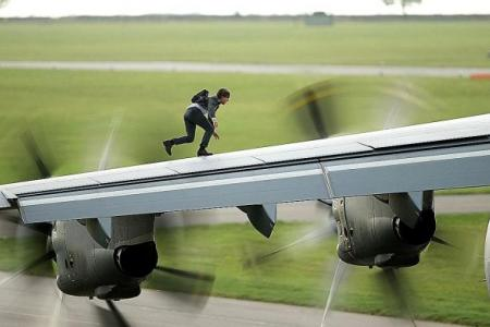 Tom Cruise goes Rogue with his most death-defying stunt yet