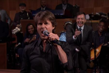 Tom Cruise takes on lip sync battle