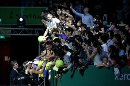 More treats for fans at this year's WTA Finals
