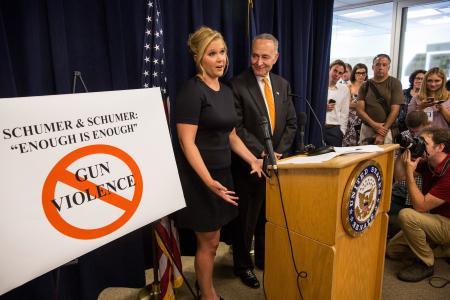 Amy Schumer calls for tighter gun controls