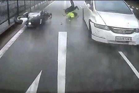 Identity of hit-and-run driver in Jurong accident still a mystery