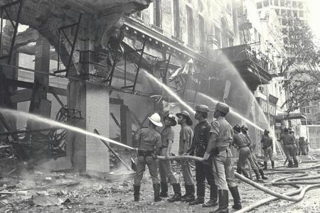 1972: Robinsons burns down