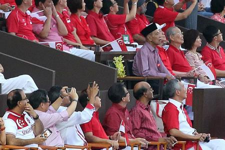 Empty seat a reminder to continue to take S'pore forward
