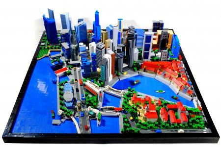Central 'brick' district: TNP photojournalist builds Lego CBD