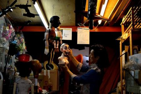 Veteran puppeteer to perform with Elvis Presley and Michael Jackson