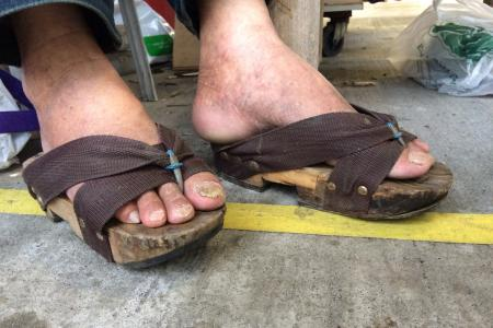 Meet the local street cobbler with a Japanese name