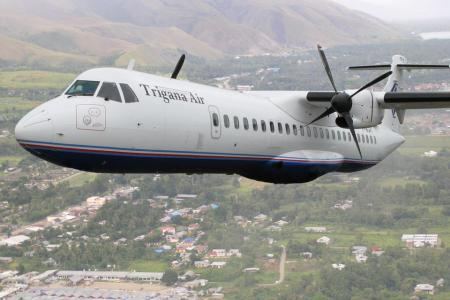 Indonesian plane carrying 54 people goes missing in Papua