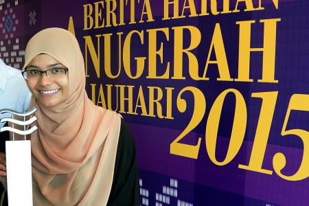 Former madrasah student wins Berita Harian Inspiring Young Achiever award