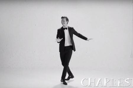 Watch Ansel Elgort dance through the ages