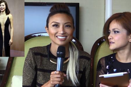 TV fashion gurus Jeannie Mai and Sazzy Falak want Constance Song's abs
