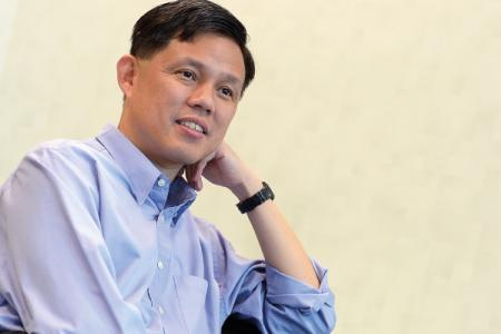 Chan Chun Sing: 'I do my best at the task I'm given'