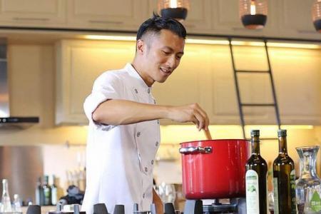 HK bad boy Nicholas Tse cooks up a culinary hit
