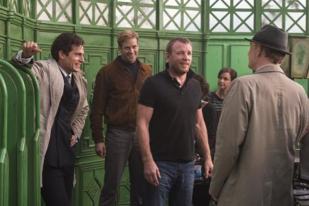 How director Guy Ritchie casts the net