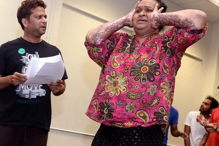 Burn victim to perform in upcoming play
